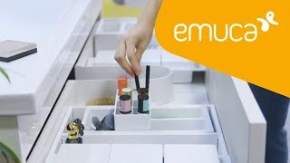 How to organise your bathroom drawers with Onda accessories