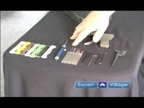 Locksmith Training Basics : Tools of Locksmiths - YouTube