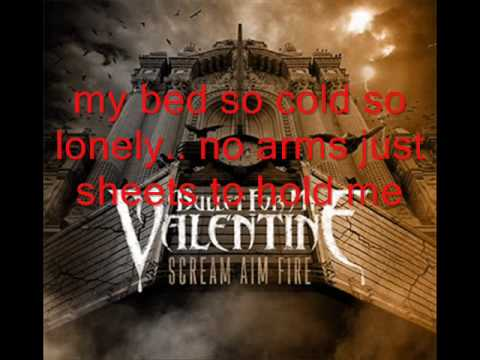 bullet for my valentine - hearts burst into fire acoustic lyrics