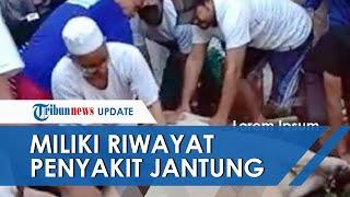 VIDEO Detik-detik Ustaz Asmala Meninggal saat Sembelih Hewan Kurban, Miliki Riwayat Sakit Jantung