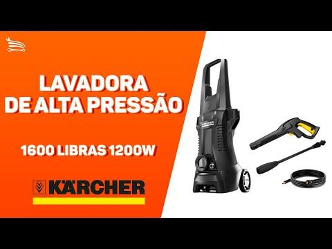 Lavadora de Alta Pressão 1600 Libras 1200W   - Video