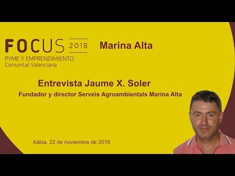 Entrevista a Jaume X.Soler, de Serveis Agroambientals en Focus Pyme Marina Alta[;;;][;;;]
