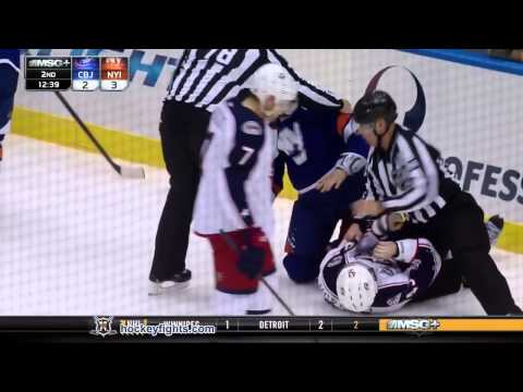 Travis Hamonic vs. Scott Hartnell