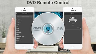 Dvd remote control for all dvd