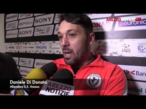 Arezzo-Gozzano 1-0, intervista a Di Donato
