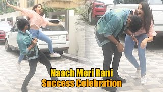 Naach Meri Rani Song Success Celebration | COMPLETE VIDEO | Nora Fatehi Guru Randhawa | Tseries