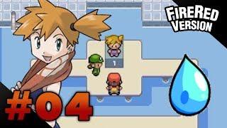 Misty  - (Pokémon) - Let's Play Pokemon: FireRed - Part 4 - Cerulean Gym Leader Misty