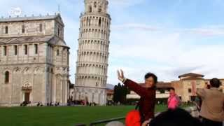 preview picture of video 'Out and About in Pisa | Euromaxx city'