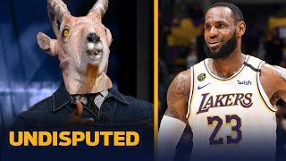 Shannon Sharpe reacts to LeBron's clutch performance in Lakers win over Celtics | NBA | UNDISPUTED