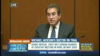 Conrad Murray Trial..Kenny Ortega.. (Part 2)