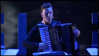 Accordion & string quartet performance