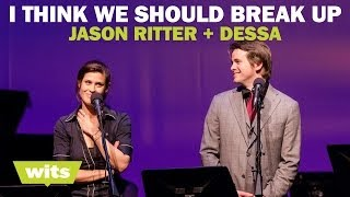 Jason Ritter and Dessa - 'I Think We Should Break Up' - Wits Game Show