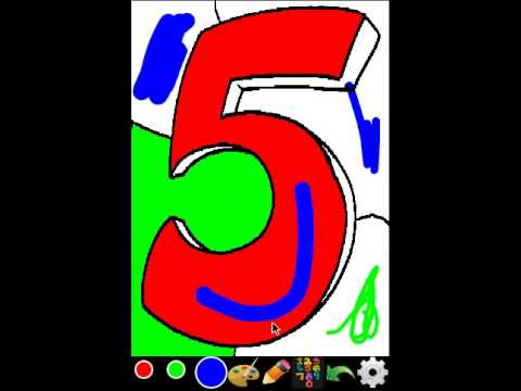 Video of Coloring for Kids - Numbers