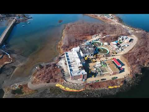 January 2019 Aerial Progress Video Peirce Island WWTF Project