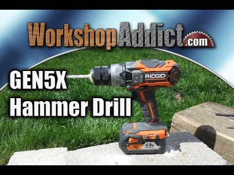 RIDGID GEN5X Hammer Drill Review