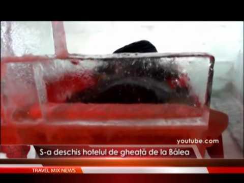 S-a deschis hotelul de gheaţă de la Bâlea