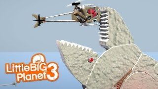 LittleBIGPlanet 3 - Whale Angry Tales [Flying the Helicopter Upside Down] - Playstation 4