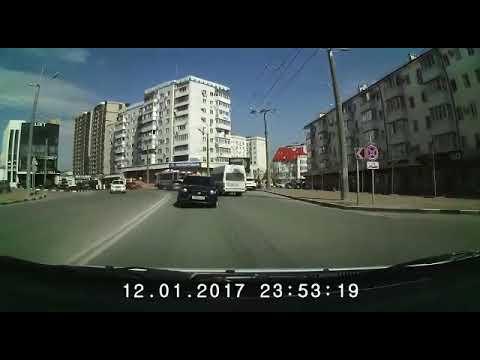Жесткое лобовое столкновение в Новороссийске