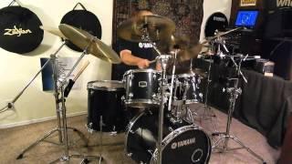 AC/DC Nervous Shakedown Drums