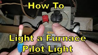 How To Light A Furnace Pilot Light (DIY! Save $$ and Time)