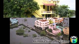Rain Scatterd The Life Of People In CHENNAI