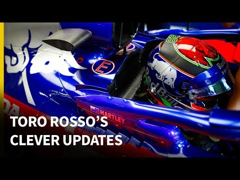 Toro Rosso's clever F1 updates