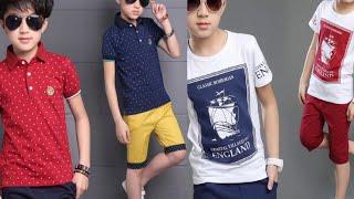 BOYS SUMMER CASUAL DRESS DESIGNS   LITTLE BOYS SUMMER FASHION   NEW STYLISH KIDS CLOTHES
