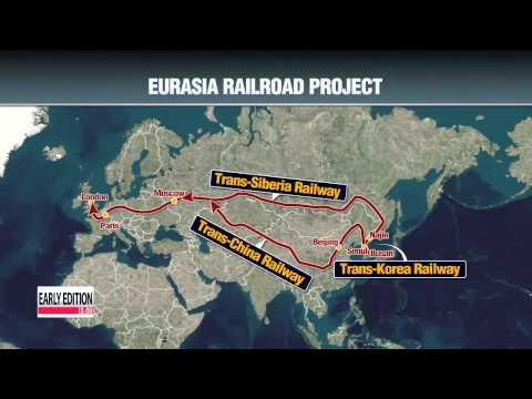 Video Trans-Korea railway to bring myriad of benefits to two Korea′s   유라시아 철도 사업 실현 가