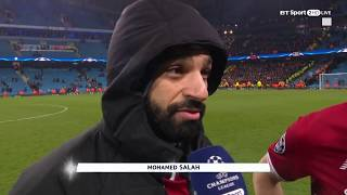 """It's a good song!"" - Mo Salah on 'The Egyptian King' Liverpool chant"