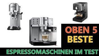 Beste Espressomaschinen im Test 2021