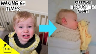 HOW TO GET YOUR TODDLER TO SLEEP THROUGH THE NIGHT WITHIN 7 DAYS | SLEEP TRAINING METHOD THAT WORKS