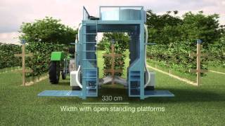 AIR JET BERRY HARVESTER KOKAN 500S - 3D ANIMATION