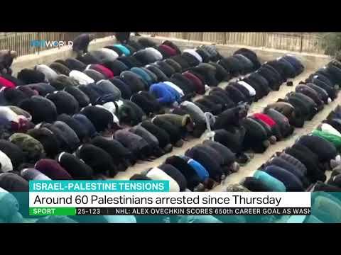 Protests by Palestinians at Al Aqsa mosque