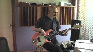 Tony Levin Recording with Shambhu on Sacred Love