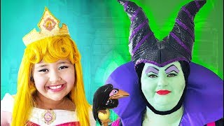 Disney Sleeping Beauty And Maleficent | Makeup Halloween Costumes And Toys