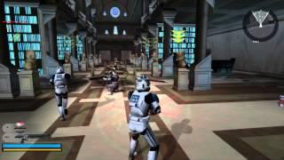 Star Wars Battlefront 2 Gameplay 5 Coruscant - Knightfall ( Jedi temple order 66 )