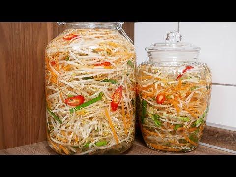 DƯA GIÁ HẸ - Cách muối Dưa Giá không cần Giấm nhanh chua và thơm ngon by Vanh Khuyen