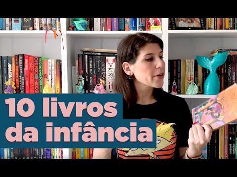 10 LIVROS DA INFÂNCIA | ESPECIAL DE ANIVERSÁRIO | BOOK GALAXY