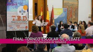 Video resumen de la Final del Torneo Escolar de Debate.