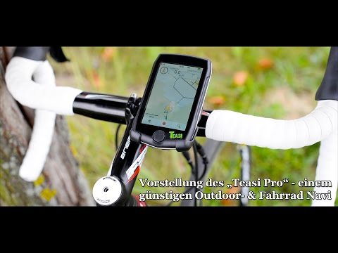 Teasi Pro - Das günstige GPS Outdoor- und Fahrrad Navigationsgerät