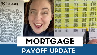 Mortgage Payoff Update | Principal Only Mortgage Payment | Paying Off Our Mortgage