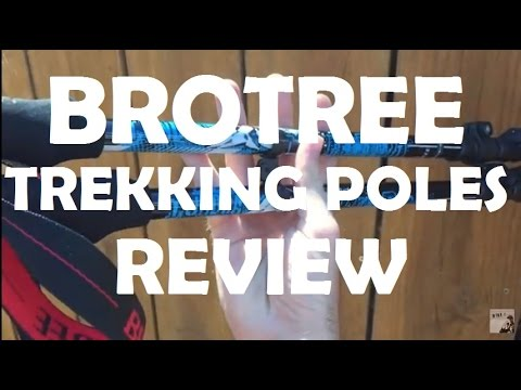 BroTree Trekking Pole Review // Backpacking gear