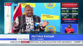 COVID-19 funds: Health CS, Kagwe summoned by parliament to answer queries on COVID-19 funds