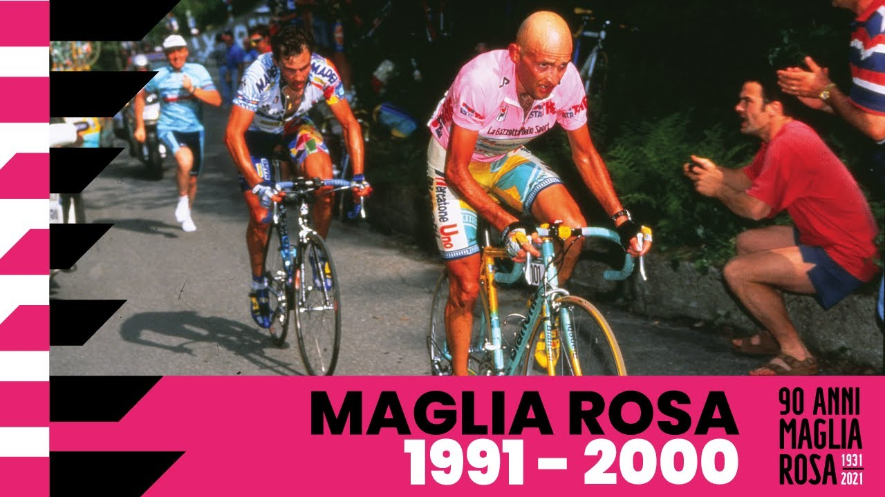 90Anni Maglia Rosa: 1991 – 2000