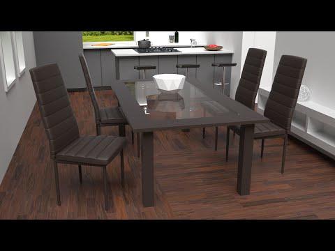 TecTake - Sedia per sala da pranzo