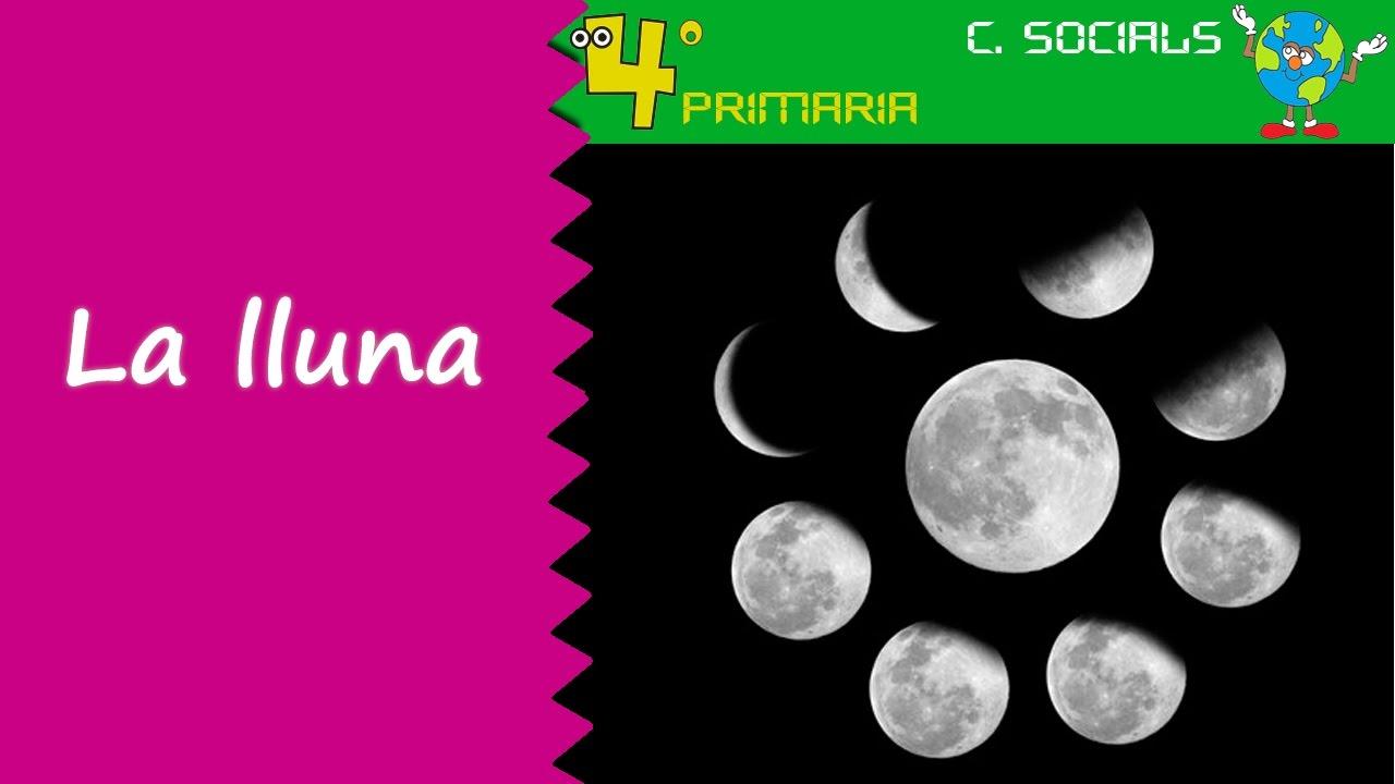 Ciències Socials. 4t Primària. Tema 1. La lluna