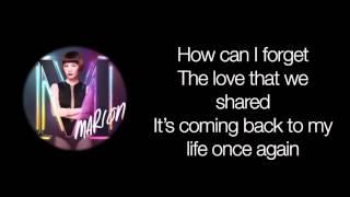 How Can I - Marion Aunor (Lyrics)