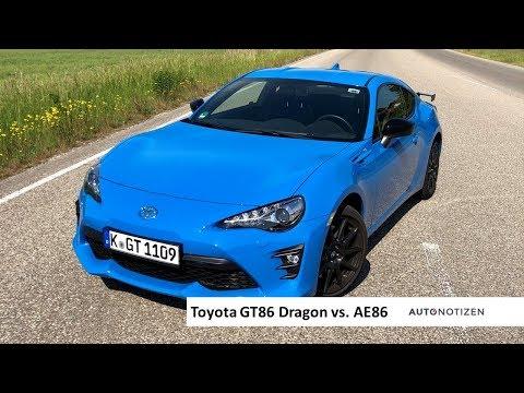 Toyota GT86 und AE86: Fahrspaß mit Hinterradantrieb - Review, Test, Fahrbericht