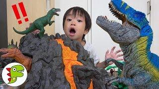 恐竜のたまご?中身はなんだろう!Theworldofdinosaurs!トイキッズ
