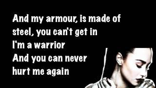 Demi Lovato Warrior Lyrics